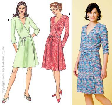 Wrap dress - Wikipedia, the free encyclopedia