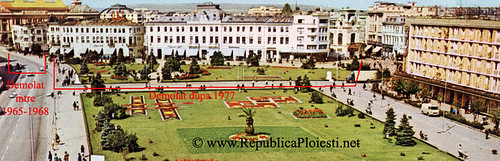 Piata Centrala din Ploiesti - 1965