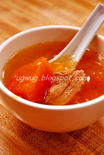 Pork & Papaya soup