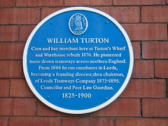 Photo of William Turton blue plaque