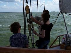 Carpe Diem zeilend NAUPAR (NAUPAR) Tags: hoorn boot boten marken volendam carpediem carpe diem monnickendam almeerderzand schipschiffschiffeschepenijsselmeerwaddenzee
