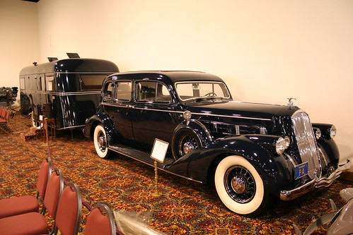 1937Pierce Arrow and 1936Travel Trailer by Pierce Arrow