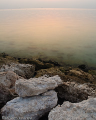 Khobar Cornish (Dhowayan (Abu Yara)) Tags: beach dawn rocks
