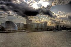 Towards Belfast (Gregory Warran) Tags: city bridge london tower water thames river hall belfast hdr offices hms gregorywarran talkinginwhispers