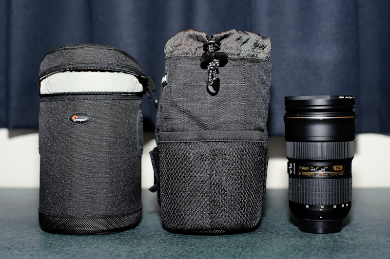 Think Tank 35 and Lowepro LC2S for 24-70mm f/2.8