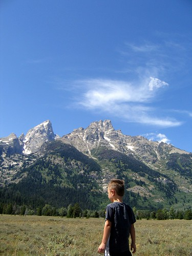 Slow Stroll Through the Tetons