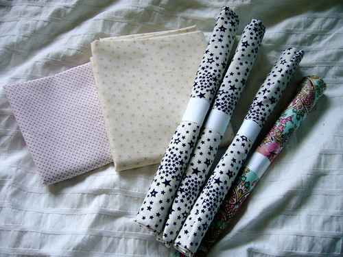 new fabrics for my stash.