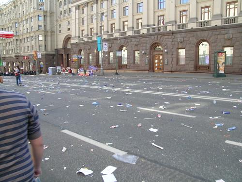 После парада