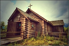 Chapel of the Transfiguration, Wyoming (Pat's Travelogue) Tags: house church nationalpark log cathedral chapel moose stjohn jackson junction wyoming episcopal transfiguration grandtetonnationalpark