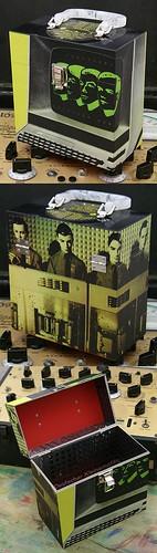 Custom Kraftwerk record case
