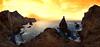 Ponta Sao Lourenço. (benitojuncal) Tags: sunset portugal mar pano panoramica ponta sao madeira isla ilha acantilado oceano lourenço atalntico