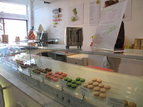 Macarons at Paulette