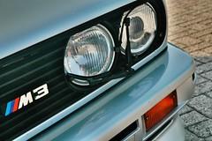 BMW M3 E30 (Thomas van Rooij) Tags: detail car closeup logo nikon thomas d70s automotive front bmw headlight nikkor m3 coupe e30 1870 rooij thomasvanrooij