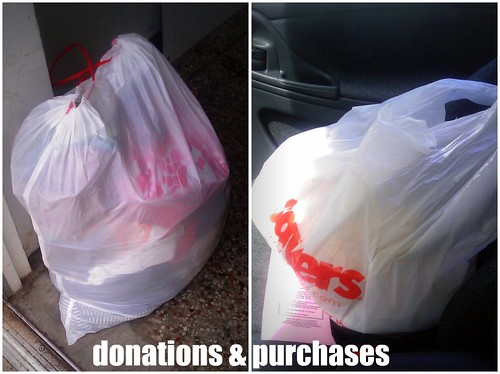 donations and purchases