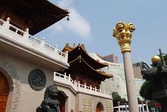 Shanghai - Jingan Temple (LX in Shanghai) Tags: china road temple shanghai jingan   nanjing tempel