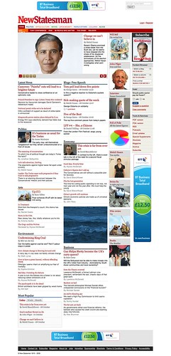 New Statesman (Standard Browser Default Colour Scheme)
