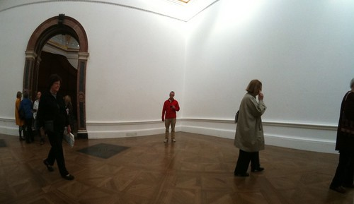 Me in the Royal Academy