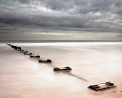 S m o o t h | O u t l o o k (Reed Ingram Weir) Tags: longexposure sea sand tour filter blyth 6stop reedingramweir