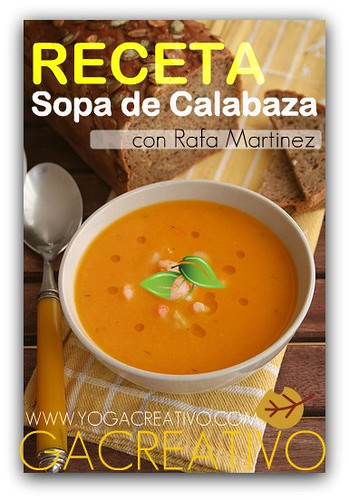 Receta!: Sopa de Calabaza de Otoño
