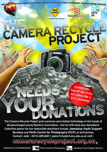 Another Camera Recycle poster (work in progress)