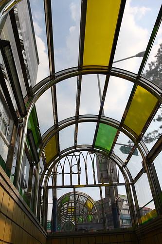 首爾_梨大地鐵站