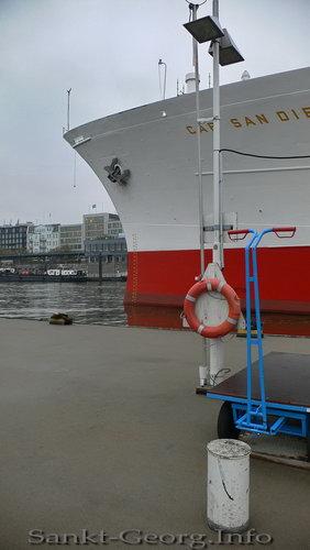 Herbst im Hafen Hamburg