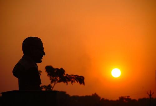 Sunset at BCREC