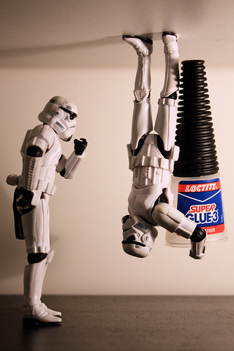 The Glue side of the Force