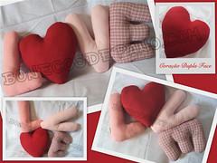 .:. Almofada LVE .:. (Bonecos de Pano .Com) Tags: love corao decorao almofada almofadas