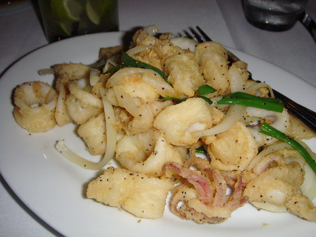 Hot and Peppered Calamari