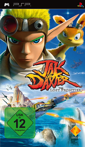Jack & Daxter: The Lost Frontier Packshot