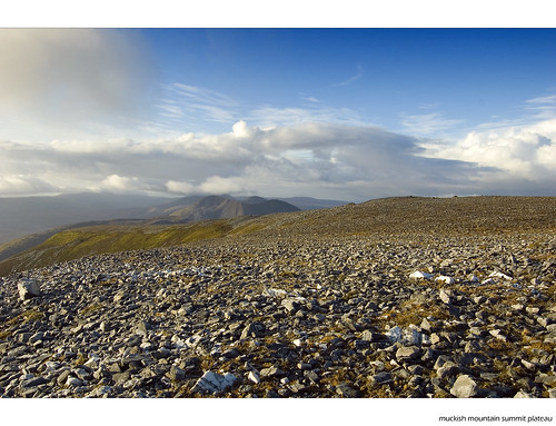 Muckish summit plateau