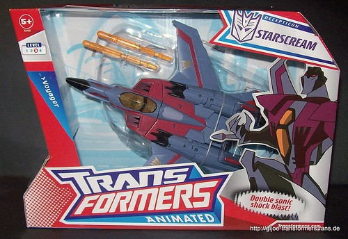 Starscream Animated Voyager Transformers 001
