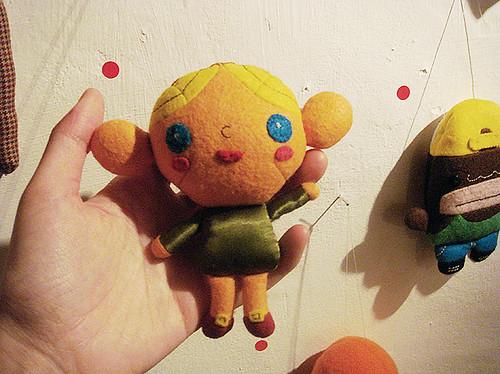 Muñeca de La exposición de Vicenta