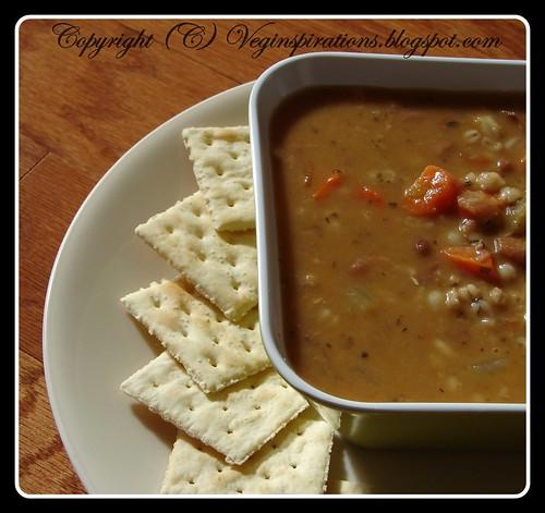 Barley Pinto Bean Soup 3