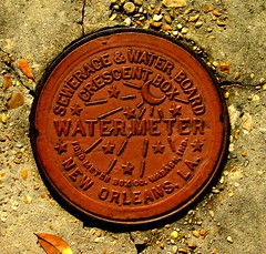 Water Meter (davidwilliamreed) Tags: new water orleans louisiana meter sewerageandwaterboard