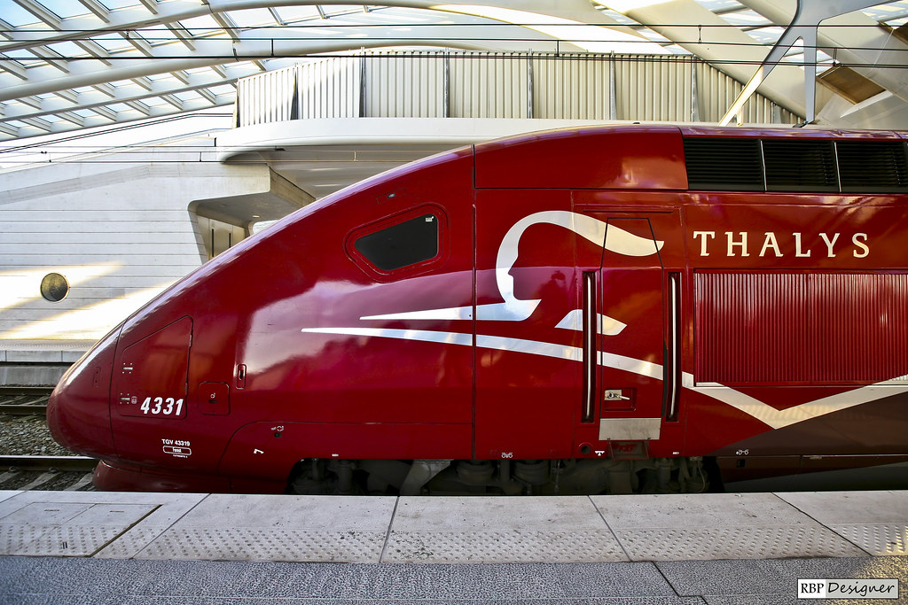 Thalys - Liège-Guillemins Station