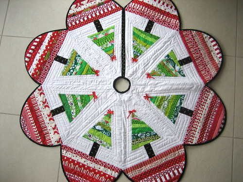Christmas tree skirt sewing patterns
