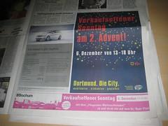 Verkaufsoffene Sonntage in Bochum und Dortmund