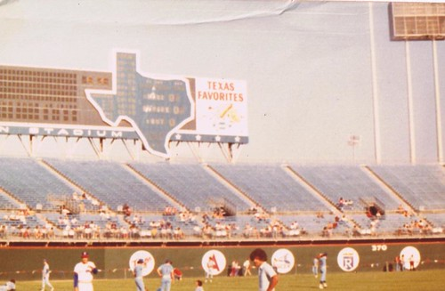 Image result for arlington stadium photo outfield