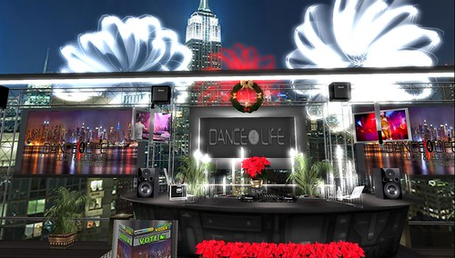 dance4life for second life fundraising