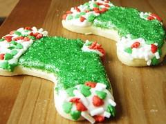christmas sugar cookies - 24