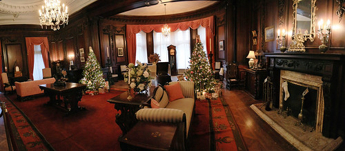 Sir Henry's Drawing Room at Casa Loma panorama