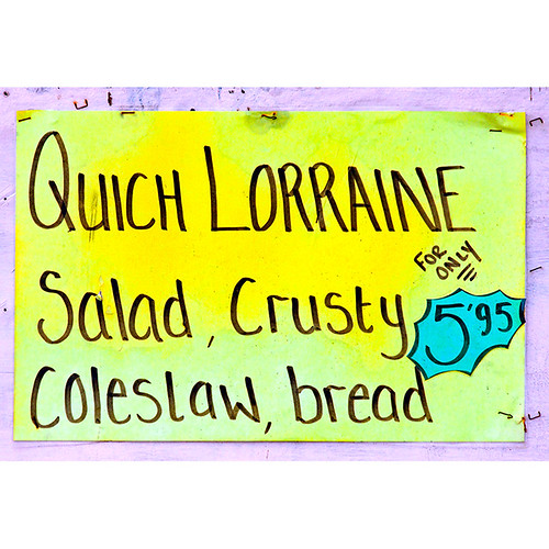 Crusty coleslaw