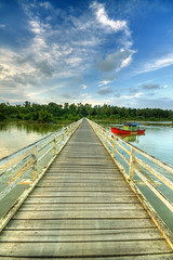 Wisdom stands at the turn in the road and calls upon us publicly, but we consider it false and despise its adherents (jebatderhaka88) Tags: old bridge canon island village malaysia kuala hdr pulau terengganu sigma1020mm sekati 40d manir