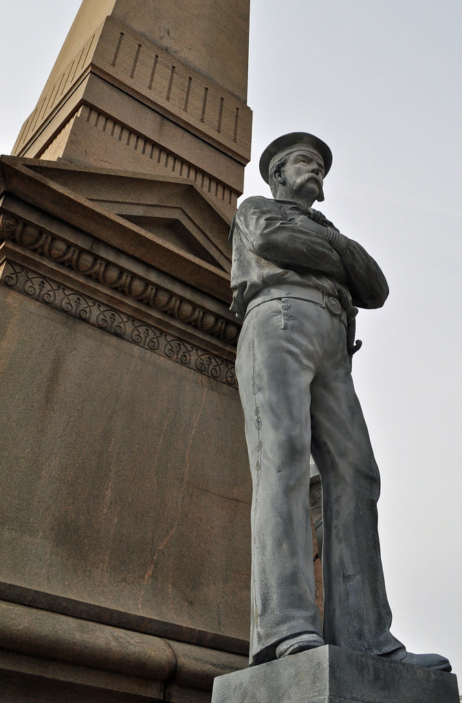 Confederate Monument Sailor