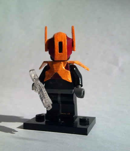Custom minifig Shapeways custom - SRX industries