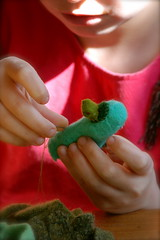 Sewing Finger Puppets