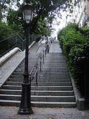 Escaliers montmartrois