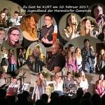 2017 - 10. Februar - Die Jugendband der Gemeinde Marmstorf bei KURT
